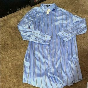 Express shirt dress new with tags